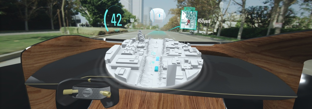 Nissan Invisible-to-Visible technology display