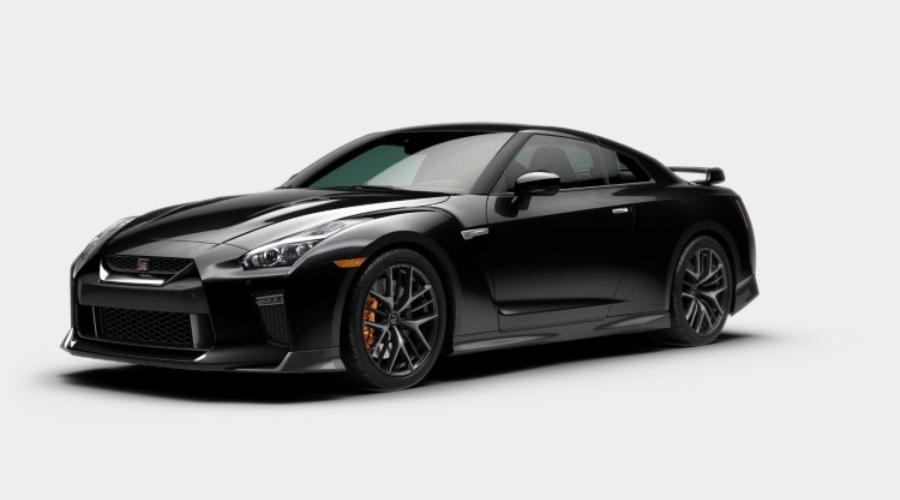 2019 Nissan GT-R in Jet Black Pearl