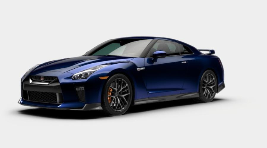 2019 Nissan GT-R in Deep Blue Pearl