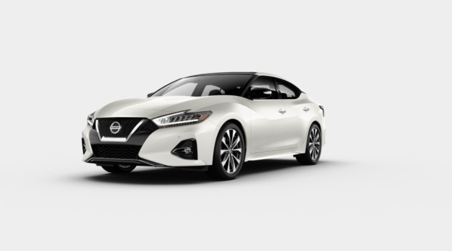 2019 Nissan Maxima in Pearl White Tricoat