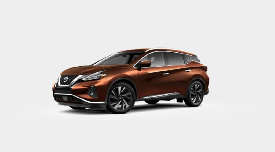 Color Options for the 2019 Nissan Murano