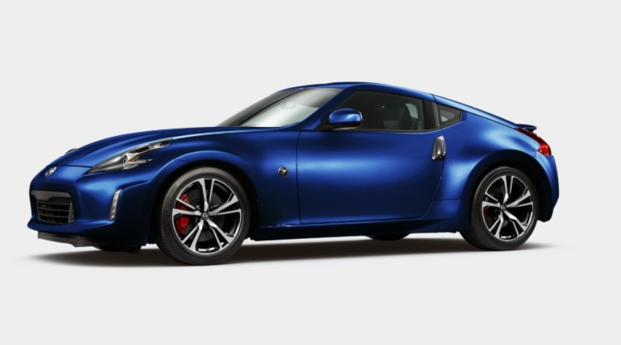 color options for the 2020 nissan 370z