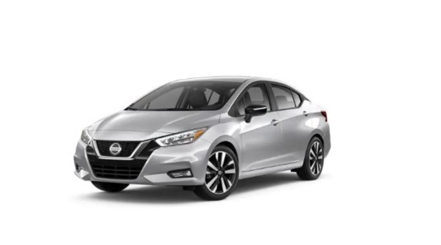 2020 Nissan Versa in Brilliant Silver Metallic
