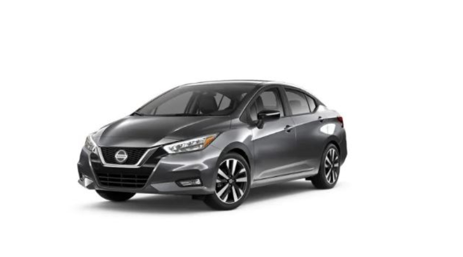 2020 Nissan Versa in Gun Metallic