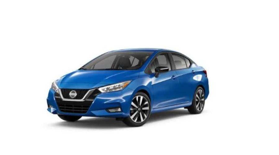 2020 Nissan Versa in Electric Blue Metallic