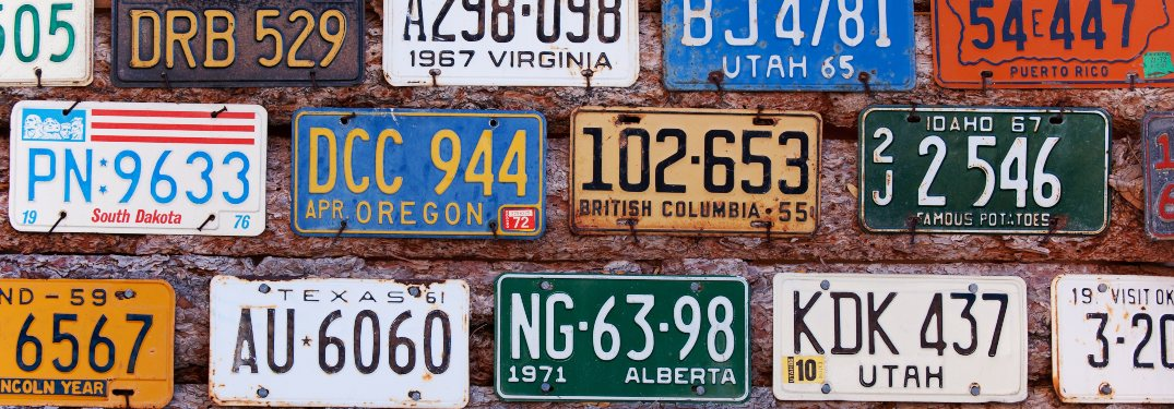 Follow These Steps to Customize Your License Plates