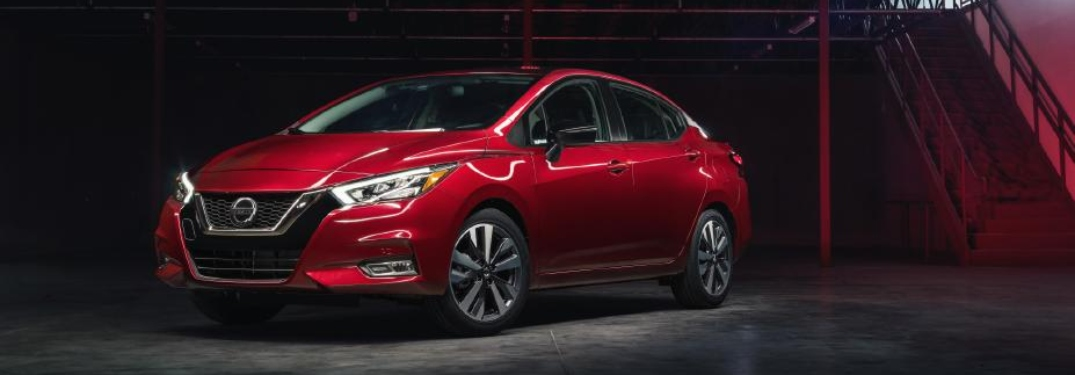 Official US Pricing for the 2020 Nissan Versa