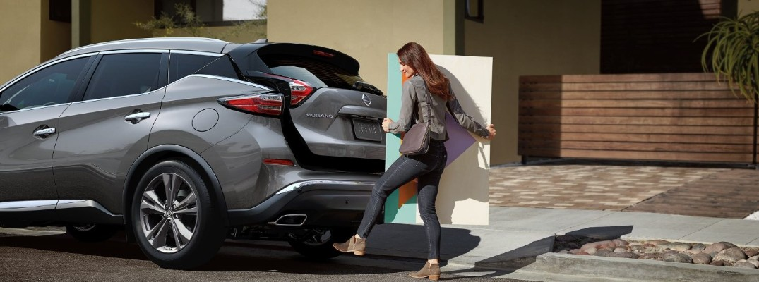 How much can you store inside the 2020 Nissan Murano?