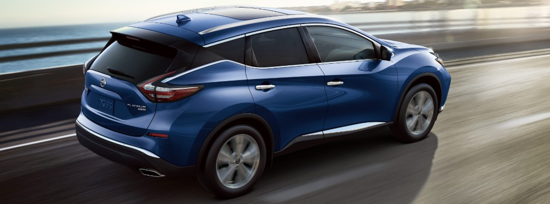 Which colors are available for the 2020 Nissan Murano?