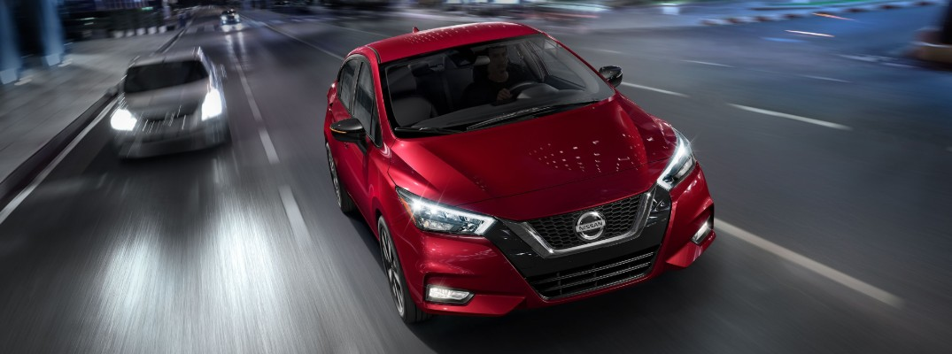 How fuel efficient is the 2020 Nissan Versa Sedan?