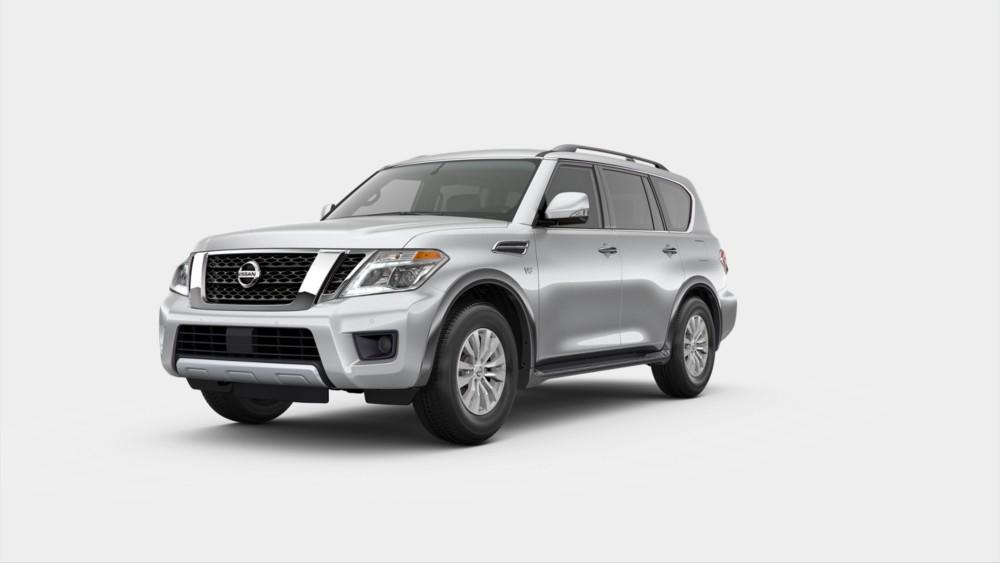 2020 Nissan Armada in Brilliant Silver Metallic