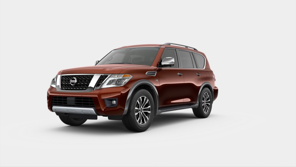 2020 Nissan Armada in Forged Copper Metallic