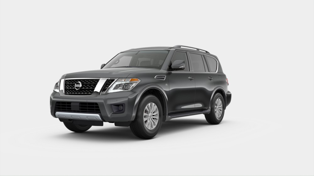 2020 Nissan Armada in Gun Metallic