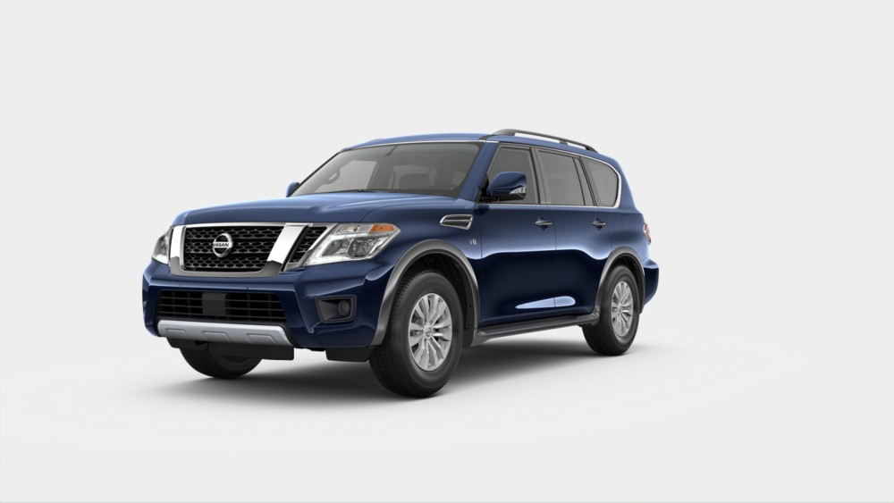 2020 Nissan Armada in Hermosa Blue Pearl