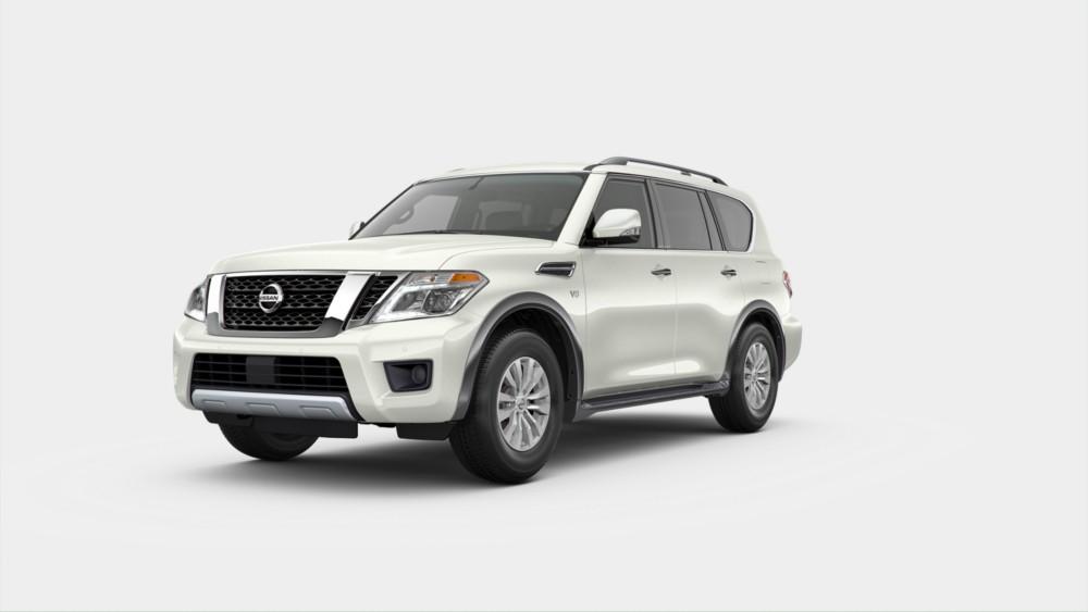2020 Nissan Armada in Pearl White Tricoat