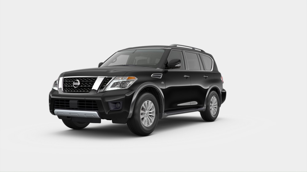 2020 Nissan Armada in Super Black