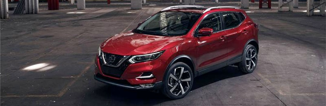 red 2020 Nissan Rogue Sport