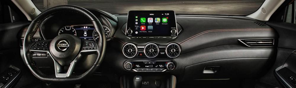 2020 Nissan Sentra dashboard