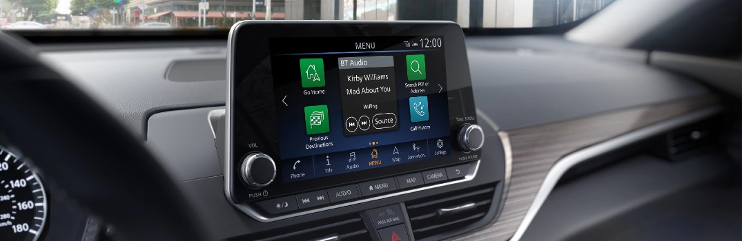 How To Set Up My Phone In The 2020 Nissan Altima Glendale Nissan