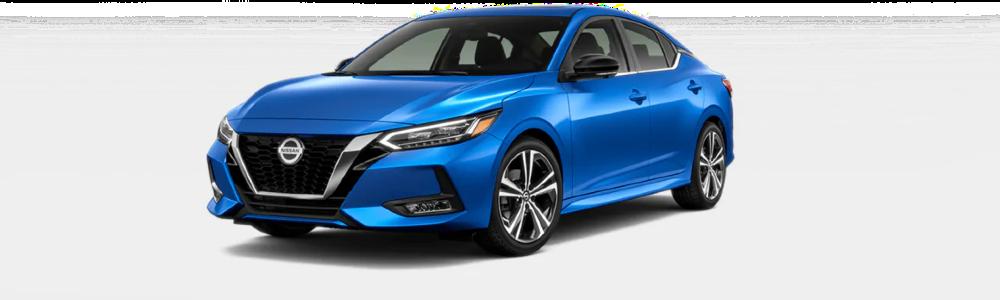 2020 Nissan Sentra in Electric Blue Metallic