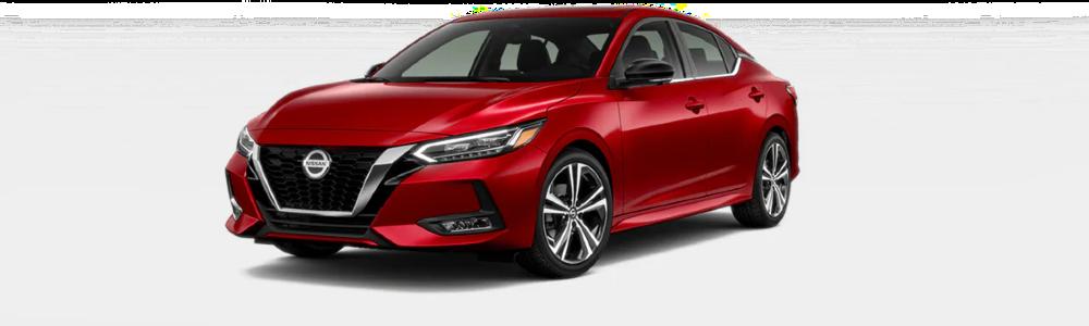 2020 Nissan Sentra in Scarlet Ember Tintcoat