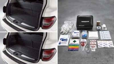 2020 Nissan Armada Cargo package