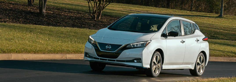 Infotainment trim level break down for the 2020 Nissan Leaf