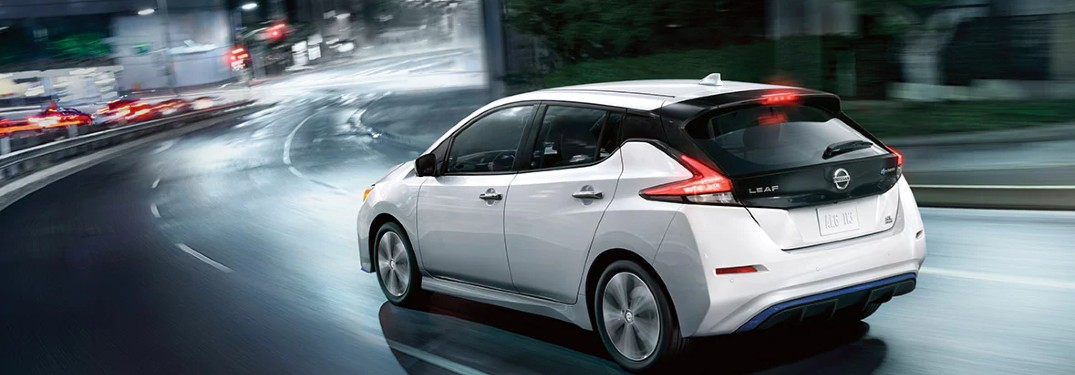 How much space can I utilize in the 2020 Nissan Leaf?