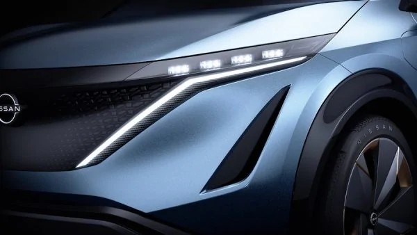 Nissan Ariya Concept SUV LED headlight
