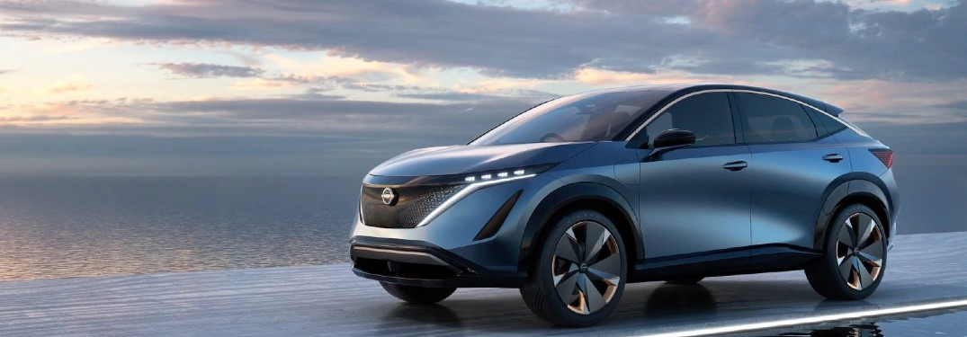 Nissan is redefining the future with the Ariya Concept SUV