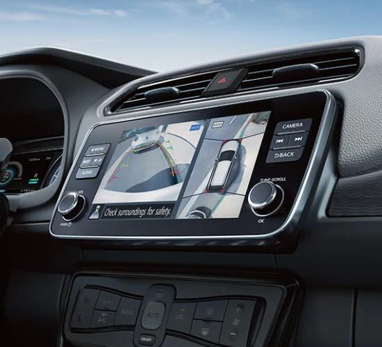Nissan Leaf around view monitor