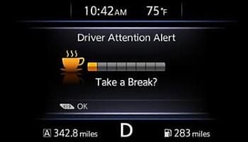 Nissan Lead intelligent driver alertness