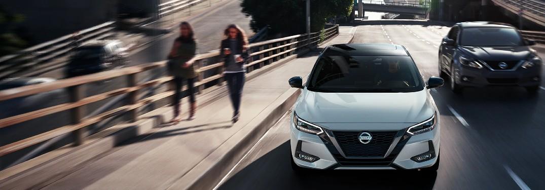 Virtually walk around the 2020 Nissan Sentra