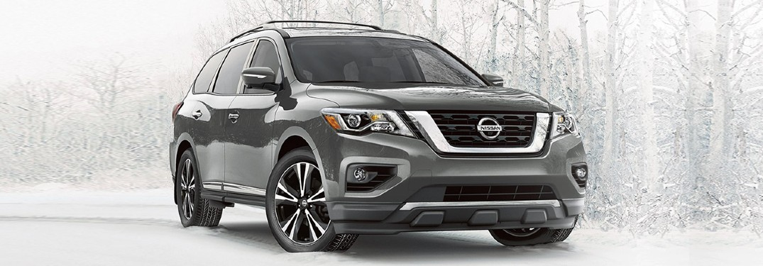 2020 Nissan Pathfinder during winter