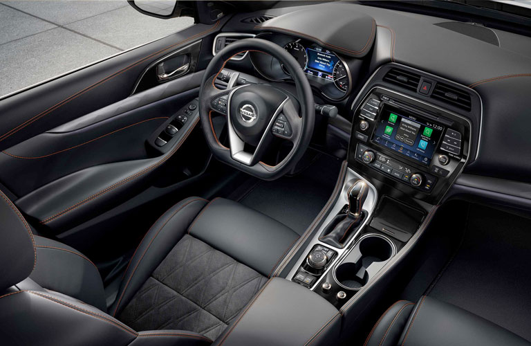 front driver's seat in the 2020 Nissan Maxima