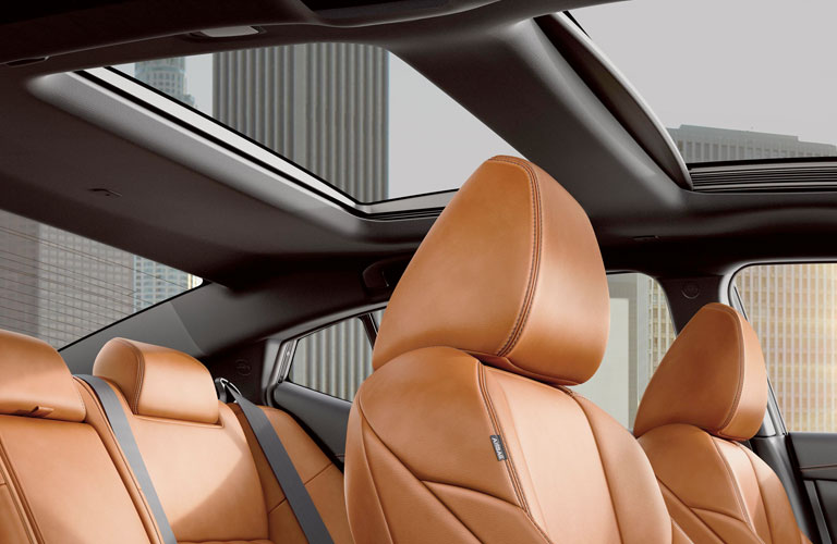 seating in the 2020 Nissan Maxima