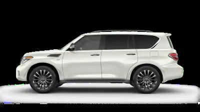 white 2020 Nissan Armada