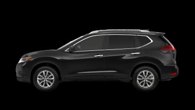 black 2020 Nissan Rogue