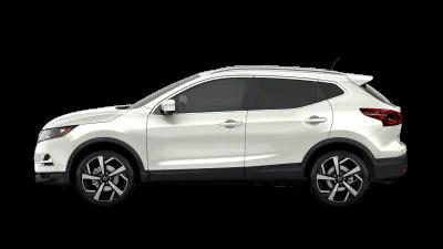 white 2020 Nissan Rogue Sport