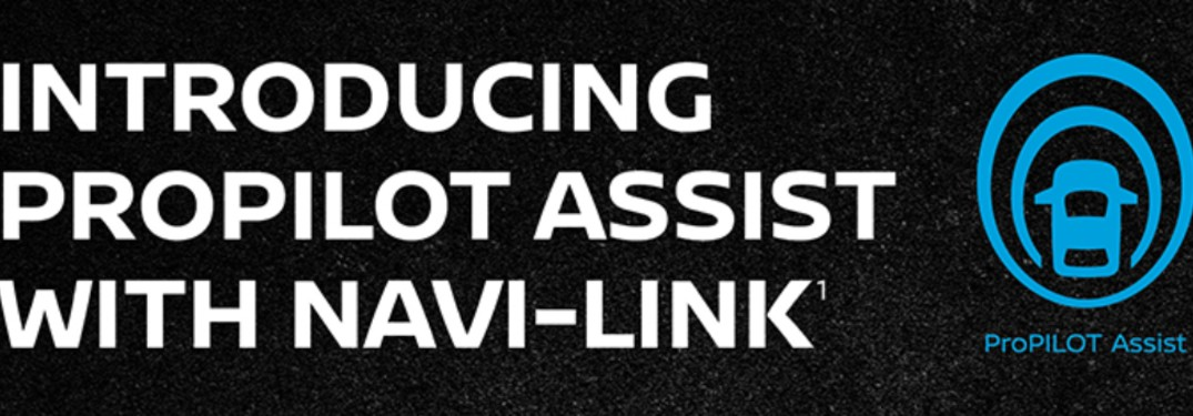 What's new with the ProPILOT Assist with Navi-link?