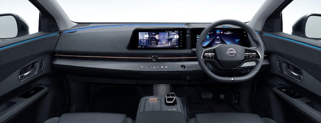 2021 Nissan Ariya dashboard
