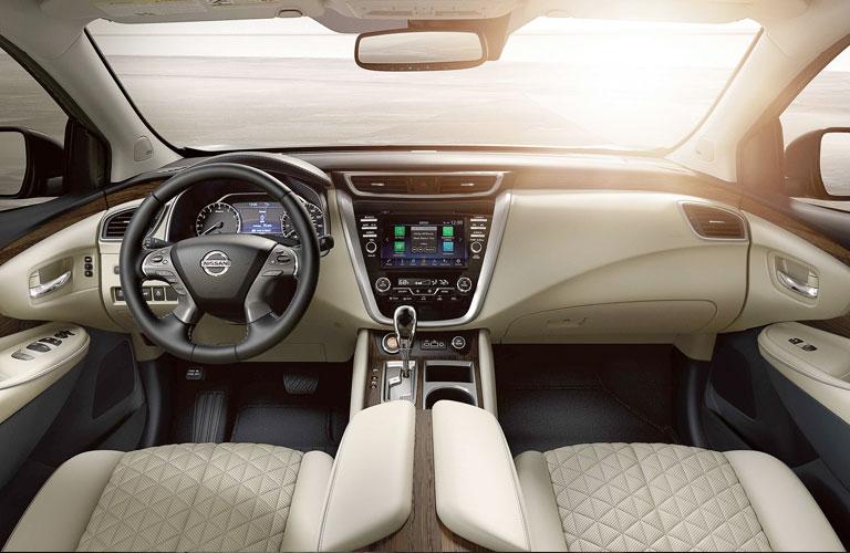 dashboard of the 2020 Nissan Murano