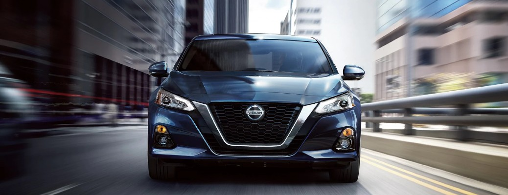front view of the 2020 Nissan Altima