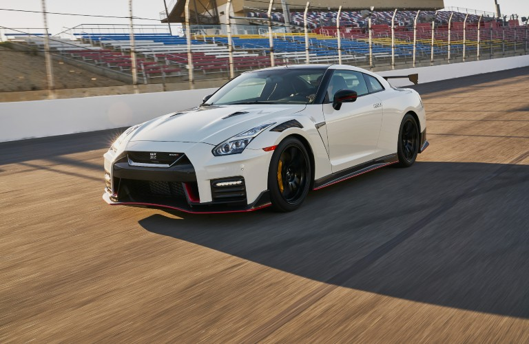front view of the 2021 Nissan GT-R