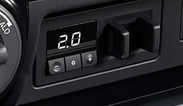 Integrated Trailer Brake Controller