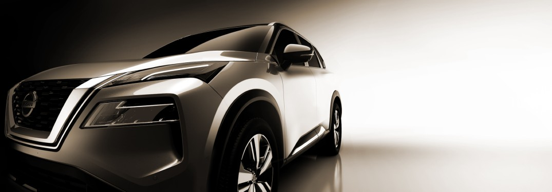 front of the 2021 Nissan Rogue
