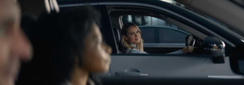 Brie Larson in Nissan campaign