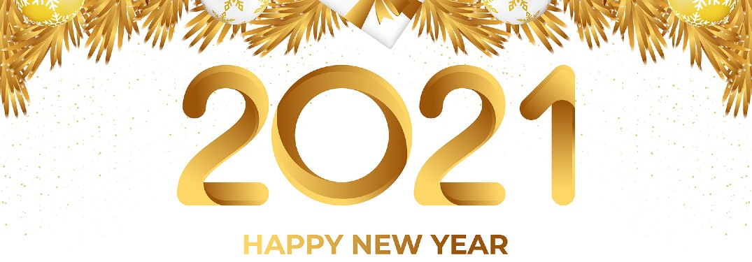 2021 new year banner