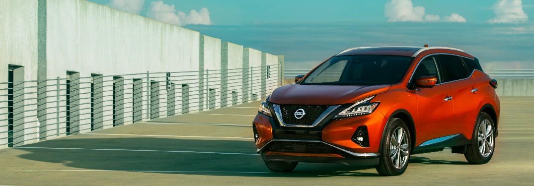 2021 Nissan Murano parked in parking lot