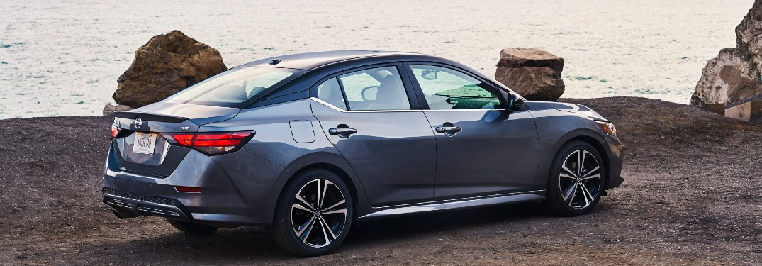 2021 Nissan Sentra look out at water